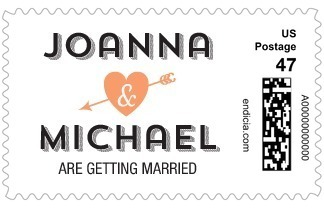 Long Story Short Personalized Postage Stamp