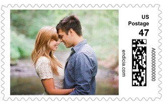 Pure Forever Personalized Postage Stamp