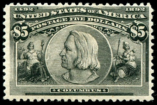 christopher columbus 1893 stamp
