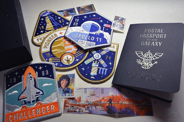 space stamps and the Postal Passport to the Galaxy
