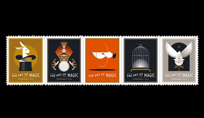 USPS art of magic stamps